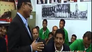Sports Minister - Football is most popular Sports in Nepal
