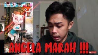 Jangan Main Talking Angela Jam 3 Pagi | ANGELA MARAH !!!