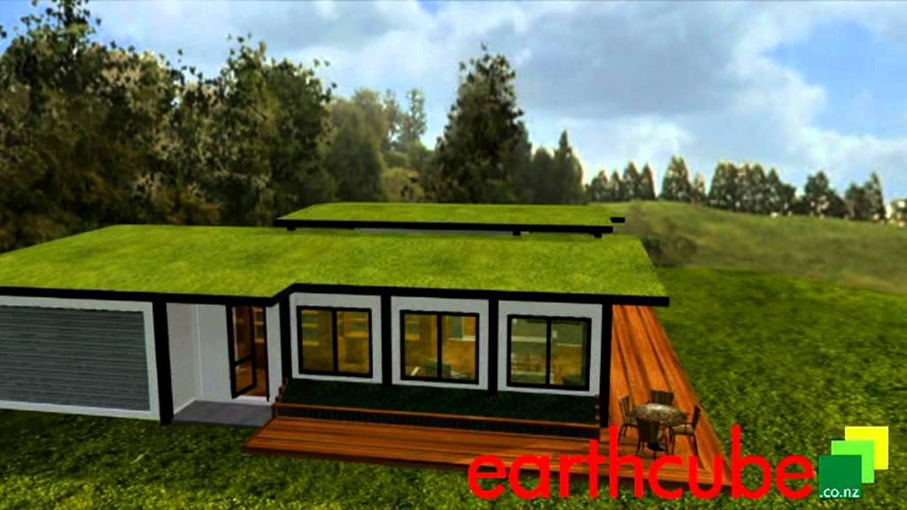 earthcube kaimai - shipping container home - youtube