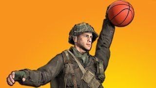 Playing Basketball in Call of Duty (NEW DLC)