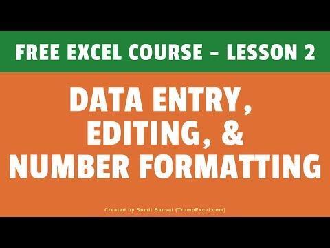 excel 2007 online tutorial