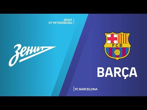 Zenit St Petersburg - FC Barcelona Highlights   Turkish Airlines EuroLeague, PO Game 4