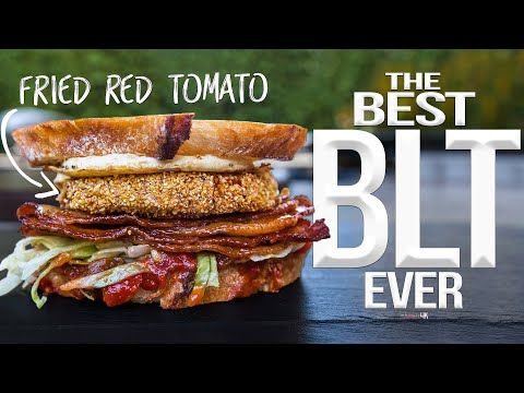 The Best BLT Sandwich EVER   SAM THE COOKING GUY 4K