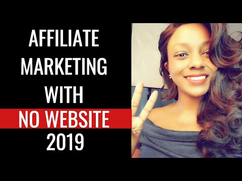 ? How to Do Affiliate Marketing Without a Website 2019? thumbnail