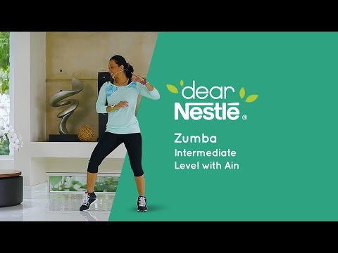 10-minute workouts – Zumba Intermediate Level
