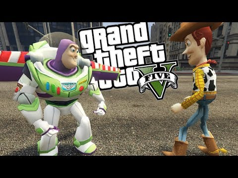 GTA 5 Mods - TOY STORY