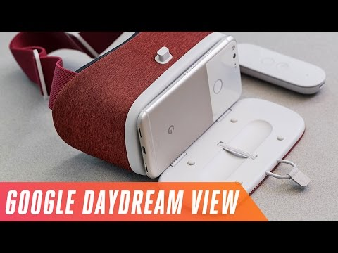 First look at Google's Daydream View VR headset