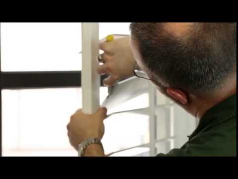 How to replace a broken louver pin