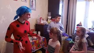 Смотреть видео Отзыв о празднике с Леди Баг от Либерти-Арт Москва онлайн