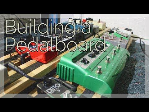 Building a New DIY Guitar Pedalboard!