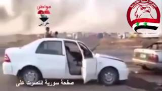 مشاهد حية لمعارك الموصل بين الجيش العراقي وخنازير داعش الإرهابيين
