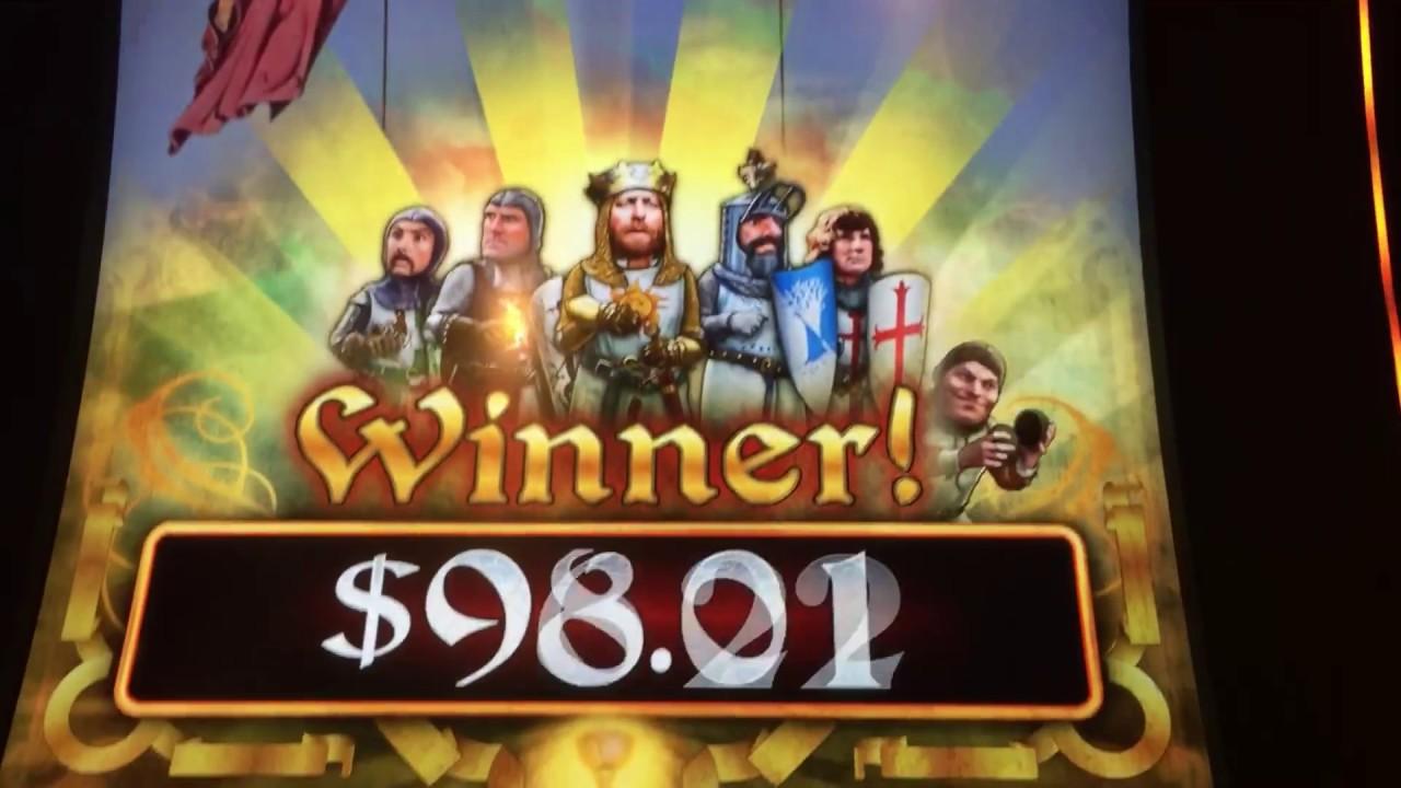 Holy grail slot machine