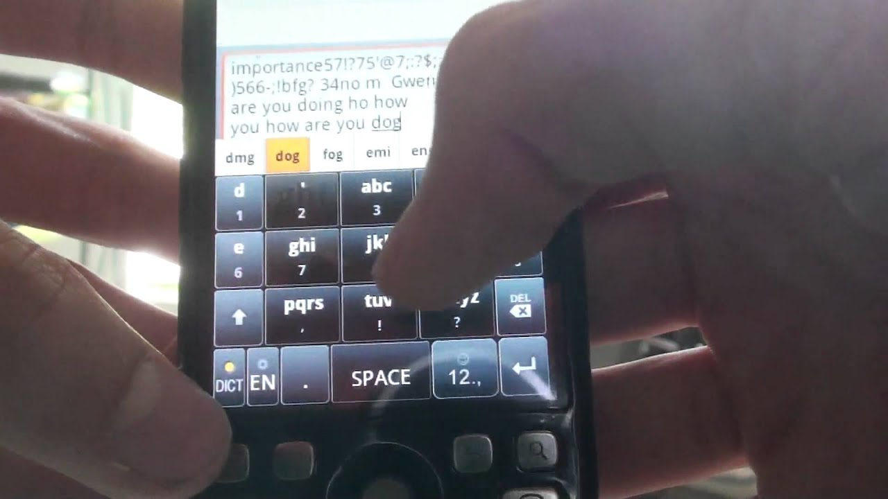 Great New Android Keyboard: Touchpal with 3 diff  Layouts!
