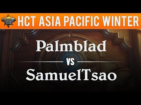 Palmblad vs SamuelTsao - Hearthstone Championship Tour Asia Pacific 2017:  Semifinal