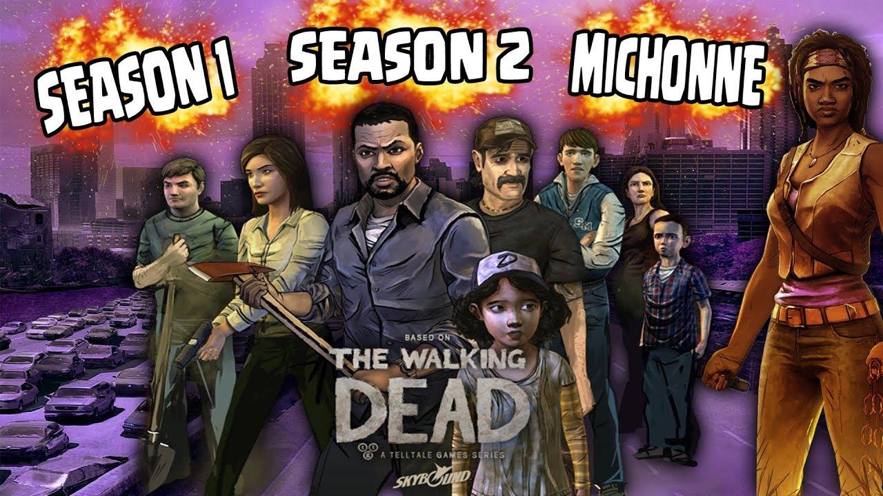The Walking Dead Season 1 Y 2 Con Todos Los Episodios Desbloqueados Para Xbox 360 9brito9