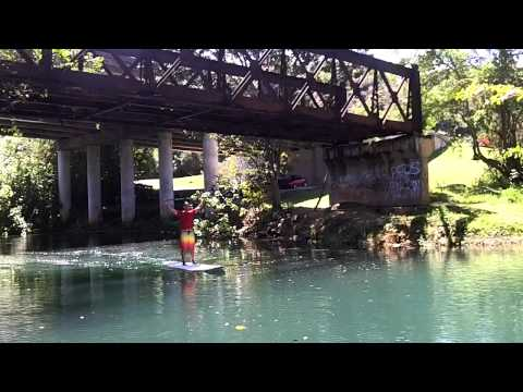 SUP rio Guajataka, Quebradillas PR Travel Video