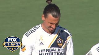 Zlatan converts from the spot to give Galaxy 1-0 lead | 2018 MLS Highlights