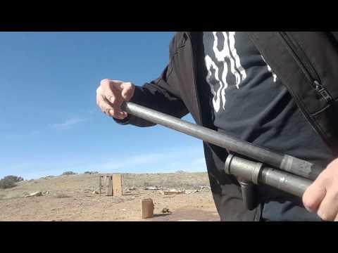 Black pipe shotgun