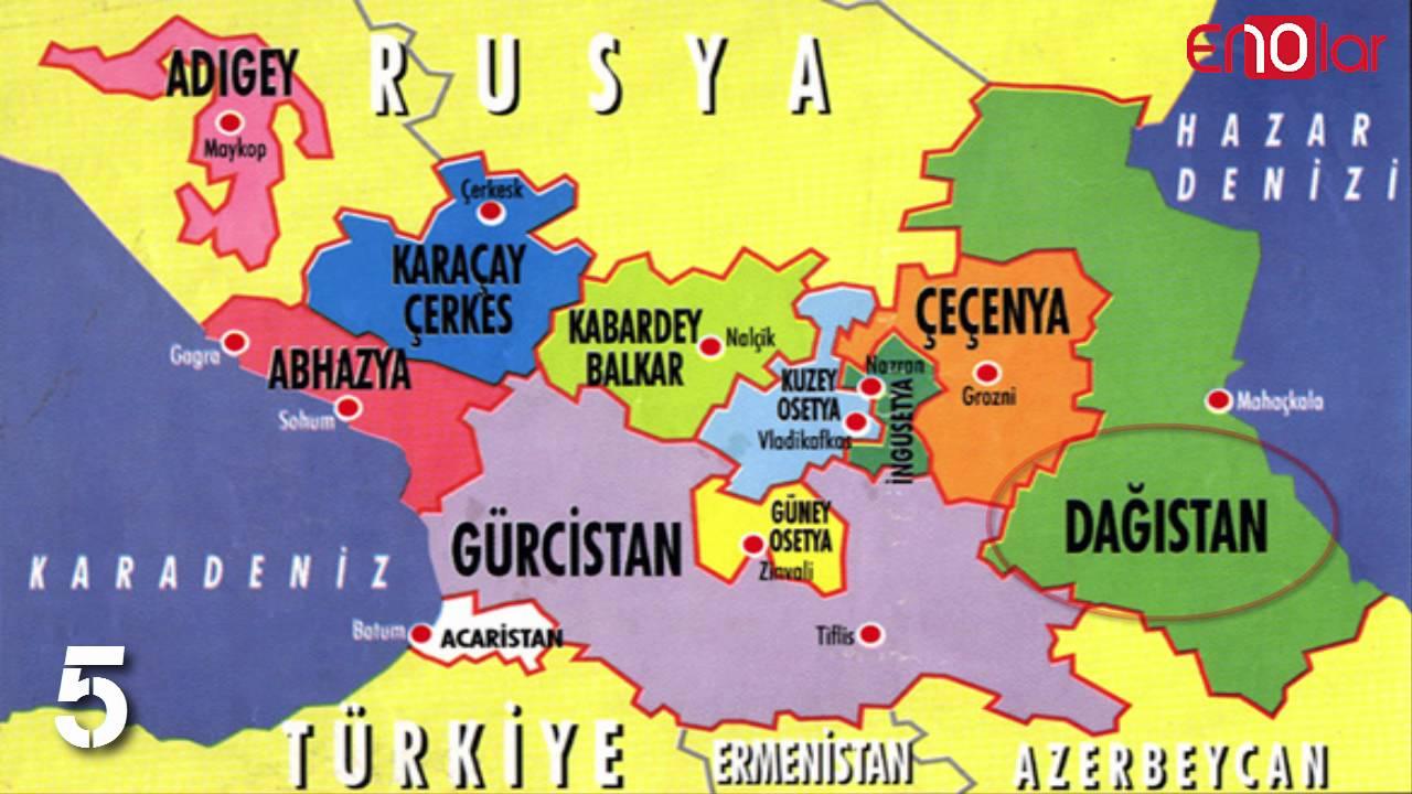 çeçenistan rusya map ile ilgili görsel sonucu