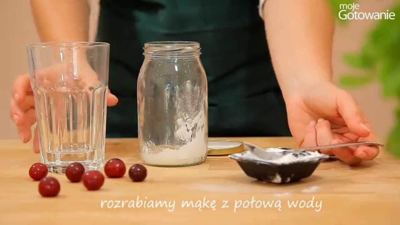 Jak zrobić wiśnie w żelu