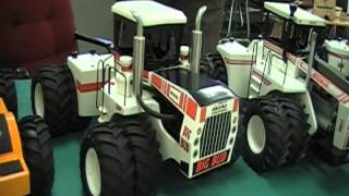 1/16 Big Bud and Wagner 4wd Tractors