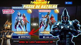 How to get the Battle pass season 10 free start of season 10 of Fortnite