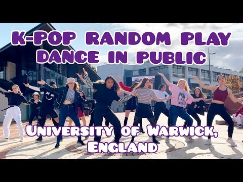 KPOP IN PUBLIC UK RANDOM PLAY DANCE at the UNIVERSITY OF WARWICK  by KONCEPT from the UK