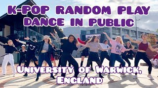 [KPOP IN PUBLIC UK] RANDOM PLAY DANCE at the UNIVERSITY OF WARWICK | by KONCEPT from the UK