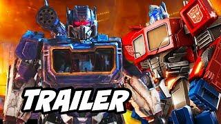Transformers Bumblebee Trailer 2 - Optimus Prime and Soundwave Return