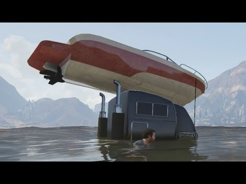 GTA V Part 10: We have a technical problem with the boat