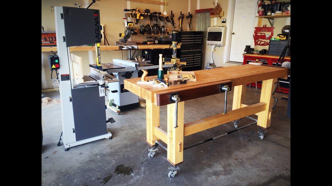 Garage Workshop Woodshop Tour Youtube