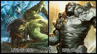 Modern Gauntlet of Greatness FINALS - Living End vs. R/G Tron