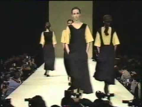 From the Corporate Priestess Archive: Yohji Yamamoto Womens Summer Collection 1989
