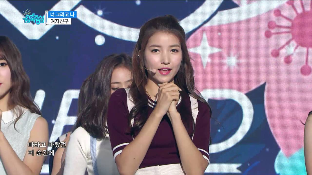 【TVPP】 GFRIEND – 'NAVILLERA', 여자친구 – '너 그리고 나' @Show Music Core Live