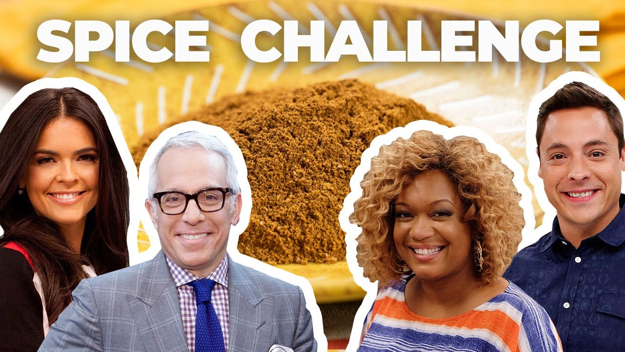 The Kitchen Cast Takes The Blindfolded Spice Challenge The Kitchen Food Network Youtube