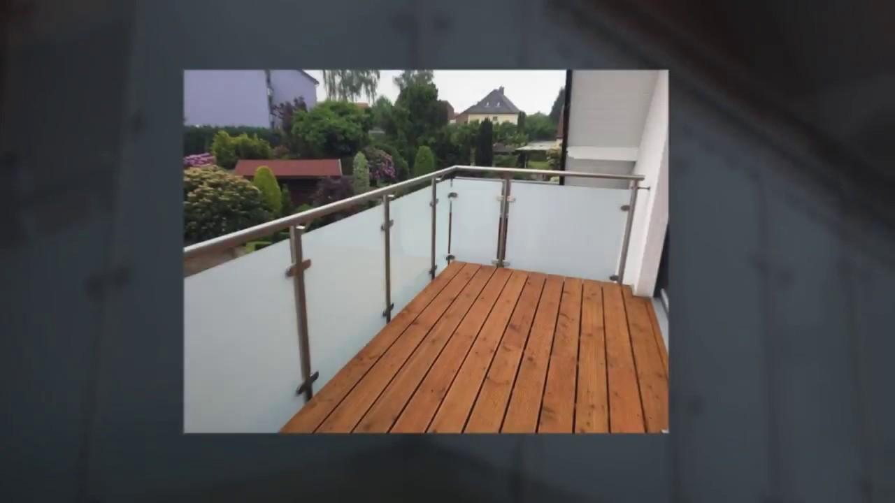 Balkongel nder f r innenbereiche balkongel nder stahl for Stuhl edelstahl