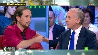 Conflicto abierto entre Eduardo Inda y Pablo Iglesias - laSe...