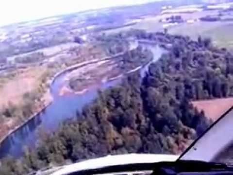 Helicopter tour of Willamette River From Eugene up to Portland