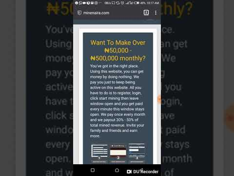 Minenaira - Earn Naira From Home – (Android Apps) — AppAgg