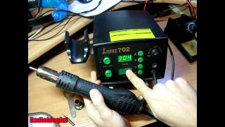 Смотреть видео паяльные станции lukey-702