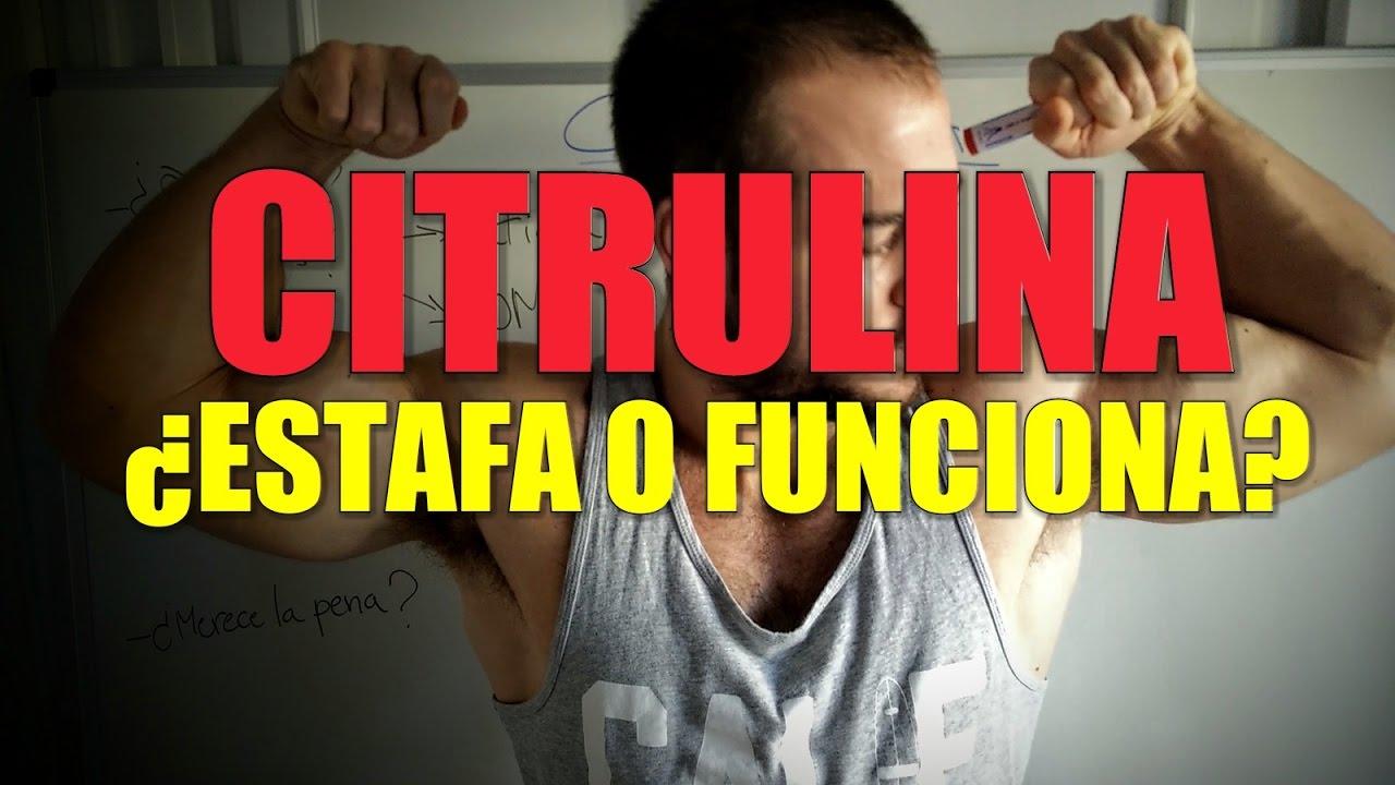 problemas de erección de citrulina