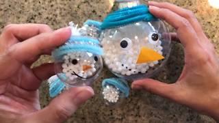 Manualidades navideñas/ideas para niños DIY