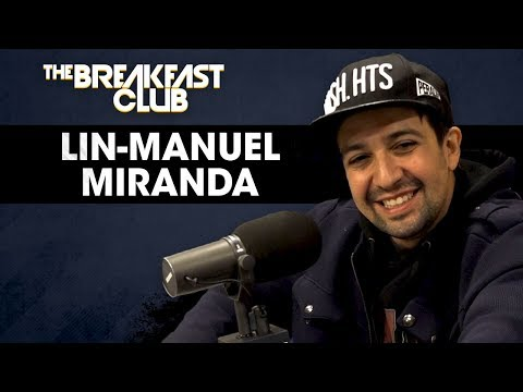 Lin-Manuel Miranda Talks Hip Hop Influences, Puerto Rico Relief & More