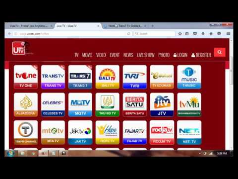 Cara  Nonton TV Online Secara Gratis Via UseeTV Indihome thumbnail
