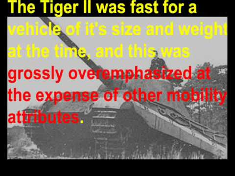 The REAL M1 Abrams! Chapter 13: History Lesson 1 --- the Tiger II (Part 1/2)