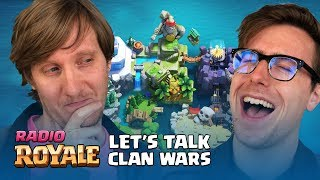 "Radio Royale: ""Let's Talk Clan Wars""  - Official Video Podcast Series"