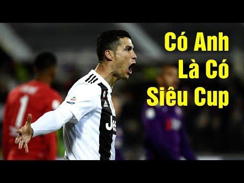 Juventus Giành Siêu Cup Italy, Công Lớn Thuộc Về Ronaldo - BÓNG ĐÁ 24H TV