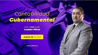 Cadefi | Contabilidad Gubernamental | 12 de Abril