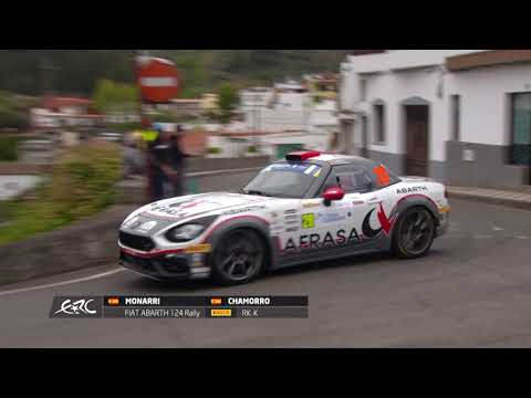 Rally Islas Canarias 2019 - Lukyanuk's crash on board from YouTube · Duration:  41 seconds