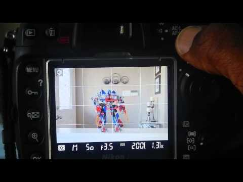 How To Lock Exposure When Shooting On Nikon Dslr D300s